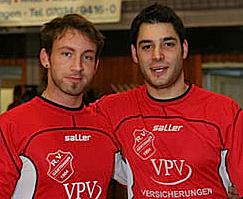 Uwe Berner (links) und Matthias König vom RV 1904 Gärtringen. Foto: Hans-Joachim Albrecht