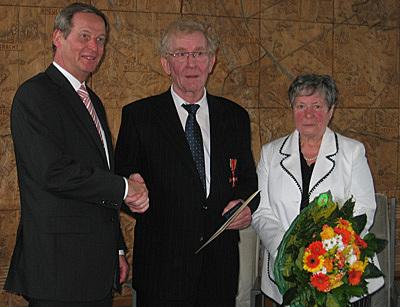 Josef Pooschen mit Bundesverdienstkreuz ausgezeichnet