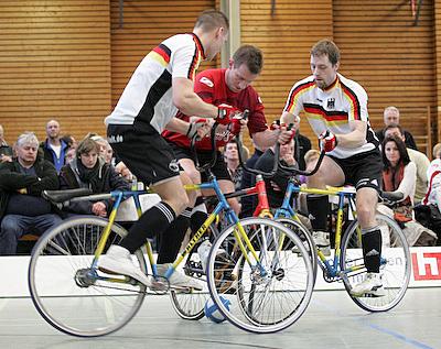 Radball-Bundesliga: Gärtringen I bleibt an der Spitze