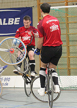 Uwe Berner und Matthias König vom RV Gärtringen sind die Titelverteidiger im Weltcup. Foto: Mareike Engelbrecht