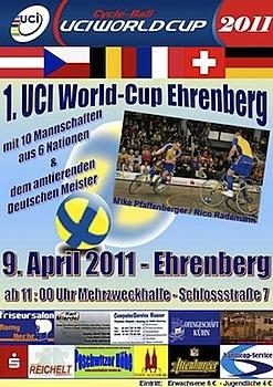 Auftakt des Radball-Weltcups beim SV Ehrenberg