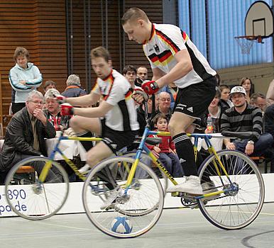 Auch zweites Weltcup-Turnier im Radball auf deutschem Boden
