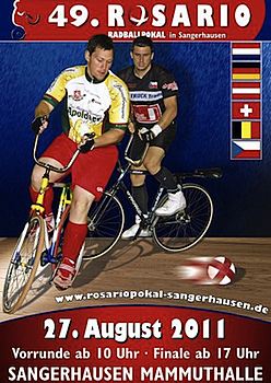 Rosario Radballpokal findet zum 49. Mal in Sangerhausen statt