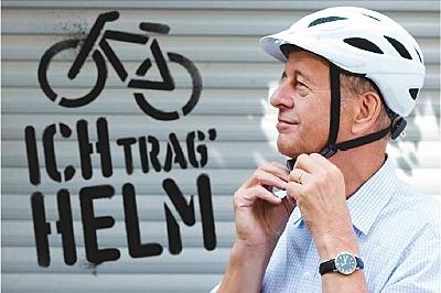 Bundesverkehrsministerium ruft zur Aktion «Ich trag' Helm!» auf