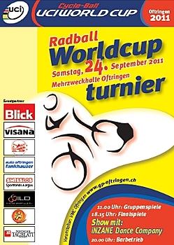 Radball-Weltcup: Gärtringen und Eberstadt spielen in Oftringen