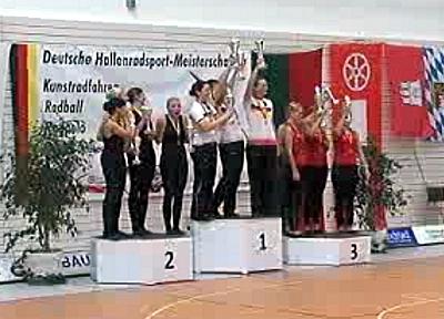 Kunstrad-DM: Blab holt Titel im 1er - Weitere drei Medaillen vergeben