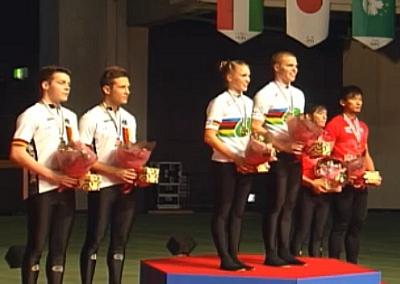 Doppelsieg und Weltrekord zum Auftakt der Hallenrad-WM