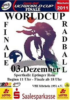Radball: Weltcup-Finale am Wochenende in Mücheln