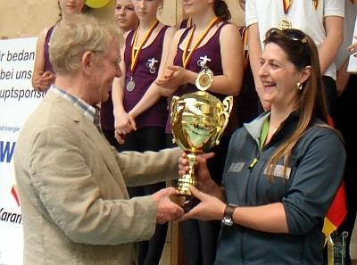 RMSV Aach erhält Gold-Pokal des BDR