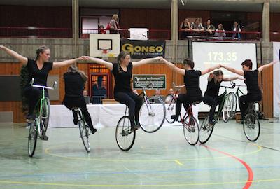 RMSV Aach erfolgreichster Verein bei Junior-Mannschafts-Cup im Kunstradfahren