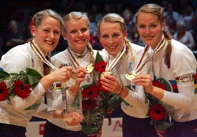 Im 4er der Frauen waren die Starterinnen vom RSV Steinhöring die klaren Siegerinnen. Foto: Mareike Engelbrecht