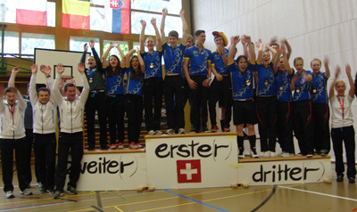 BDR-Junioren dominieren Hallenrad-EM