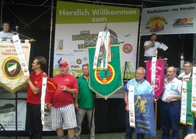 Bundes-Radsport-Treffen: Breitensportler fahren bei 6000 Starts in Werne mehr als 450.000 Kilometer