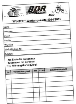 Winter-Wertungskarte 2014/2015 ab sofort online abrufbar