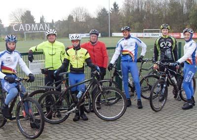 Westfalen Winter Bike Trophy: WM-Teilnehmer Tschernoster weist Breitensportlern den Weg
