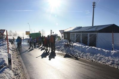 Great Opening am «StoppOmat» am Höchsten im Schnee