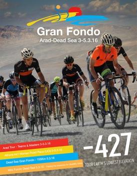 Tiefstes Radrennen der Welt: «Gran Fondo Dead Sea»