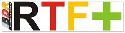 Mit dem neuen Konzept RTF+ will der der BDR dem gestiegenen Bedarf an Leistungsvergleichen auch im Breitensport nachkommen. Logo: BDR