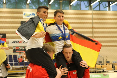 Hallenradsport - Junioren-EM: 2 x Gold am ersten Tag