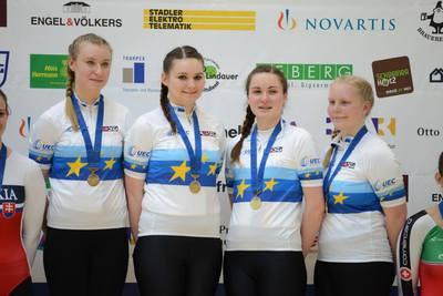 Hallenradsport - Junioren-EM: Alle Titel an den BDR