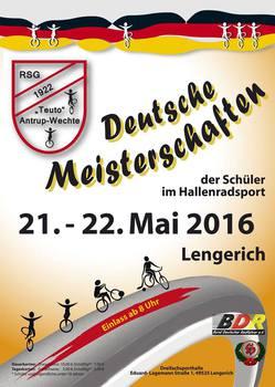 Hallenradsport: Schüler fahren um DM-Titel