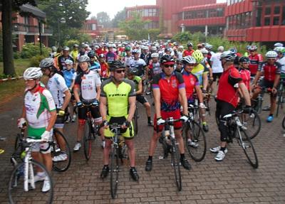 1000 Breitenradsportler starten ins Bundes-Radsport-Treffen