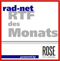 Jetzt noch für die letzten beiden «RTFs des Monats» 2016 bewerben
