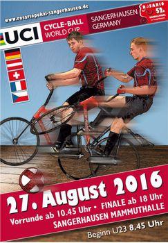 Elite des Radball-Weltcups trifft sich in Sangerhausen