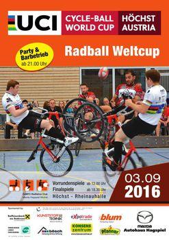 Herkulesaufgabe für Schiefbahn beim Radball-Weltcup in Höchst