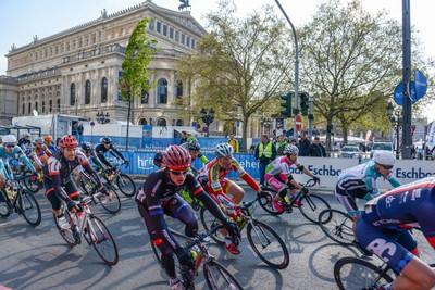 Bei Rund um den Finanzplatz Eschborn-Frankfurt gibt es künftig keine Punkte mehr für den German Cycling-Cup. Foto: Rund um den Finanzplatz Eschborn-Frankfurt