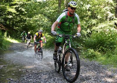 Immer öfter Fallen für Mountainbiker in Wäldern versteckt