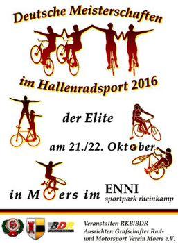 Kunstradsportler fahren um DM-Titel und WM-Tickets
