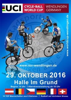 Radball-Weltcup in Wendlingen: Achter europäischer Final-Teilnehmer gesucht