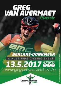 Erster «Greg Van Avermaet Classic» im Mai 2017
