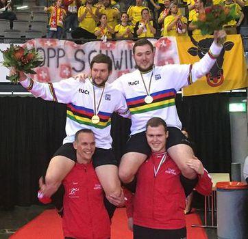 Radball-WM: Österreicher holen vierten Titel