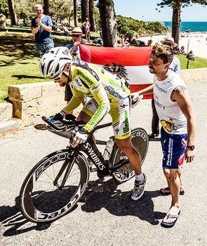 Christoph Strasser hält die Streckenrekorde beim Race Around Austria und beim Race Across America. Foto: Manuel Hausdorfer/limeART