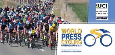 Die Straßenrad-WM für Journalisten findet 2017 erstmals in Deutschland statt. Foto: facebook.com/wpcc2017