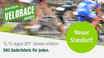 Škoda Velorace Dresden 2017 mit neuem Standort