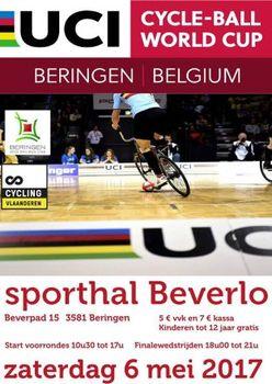 Auftakt des Radball-Weltcups in Belgien