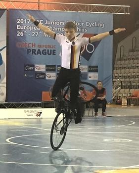EM-Doppelsieg im 1er der Junioren durch Weber und Köcher