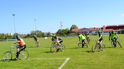 Europacup im Rasenradpolo erneut in Wendelstein - Franzosen dominieren