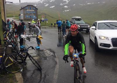 Unwetter: Rennabbruch bei Tour Transalp