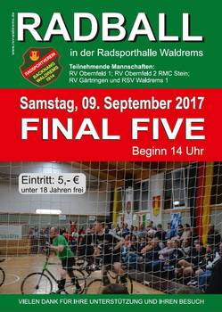Radball: Stein gewinnt erstes Final Five-Turnier
