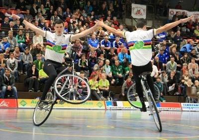 Kunstradsportler wollen mindestens vier WM-Titel