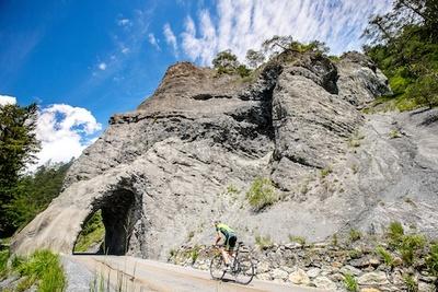 Neues Radrennen durch die Rheinschlucht