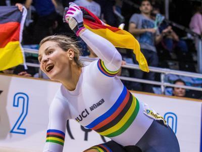 Kristina Vogel war 2017 die erfolgreichste deutsche Radsportlerin. Foto: Archiv/Jens Büttner