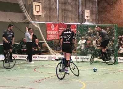 Obernfeld verteidigt Führung in 1. Radball-Bundesliga - Stein rückt vor