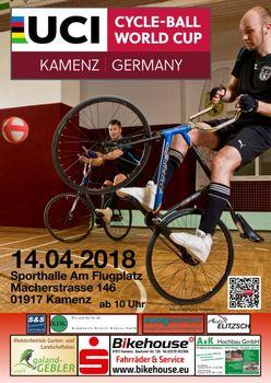 Auftakt des Radball-Weltcups in Sachsen mit fünf deutschen Teams