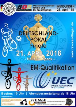 Radballer spielen um Deutschlandpokal und kämpfen mit den Kunstradsportlern um EM-Quali