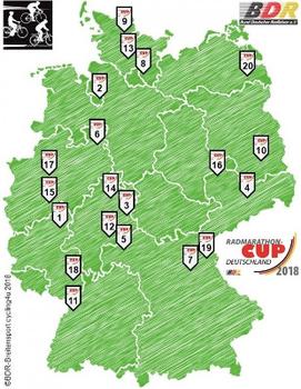 Radmarathon-Cup Deutschland eröffnet seine 29. Saison erneut in Ochtendung